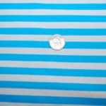 Stripe Cotton/lycra Knit fabric