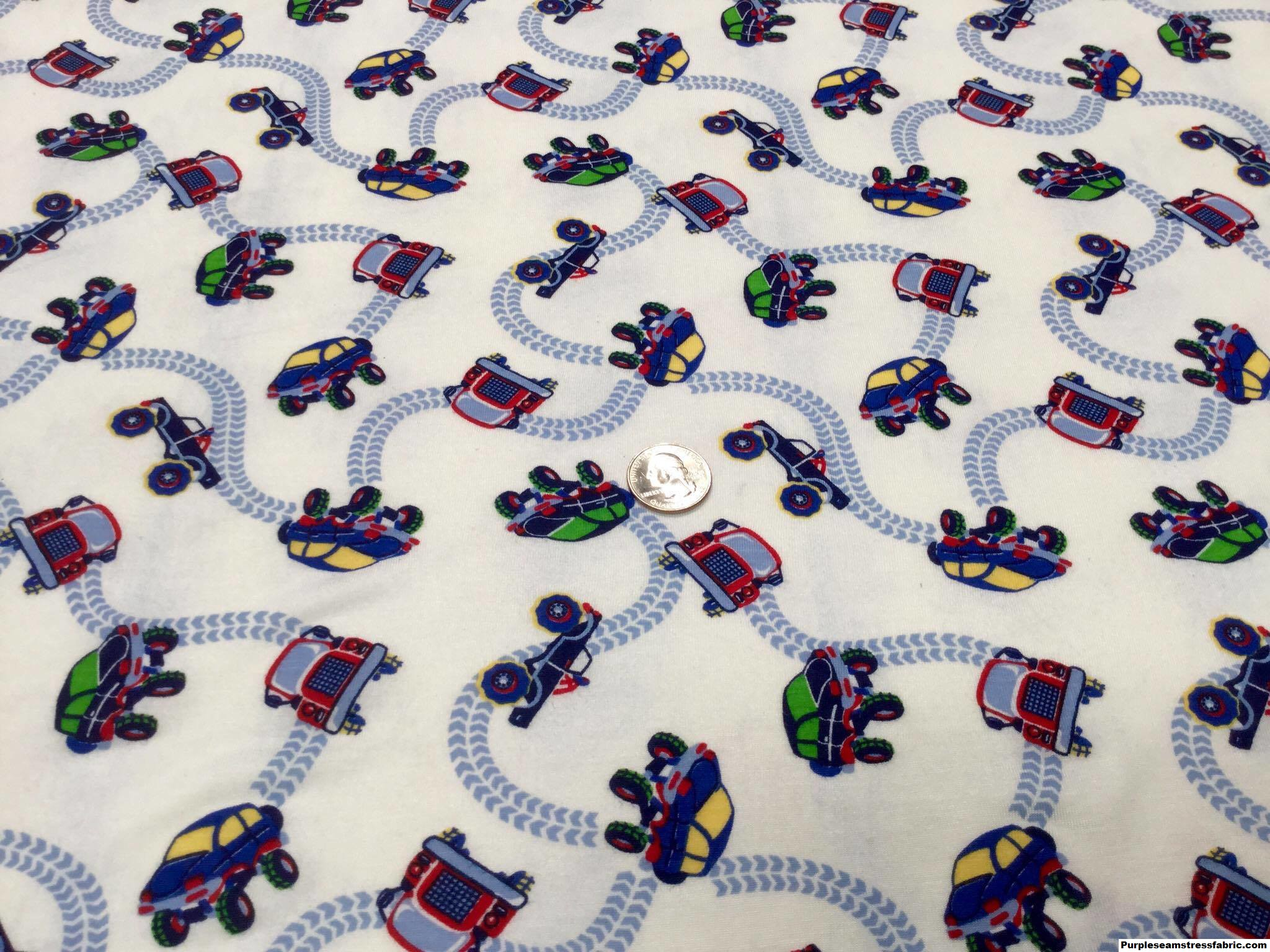 Monster trucks off roading purpleseamstress fabric for Monster themed fabric